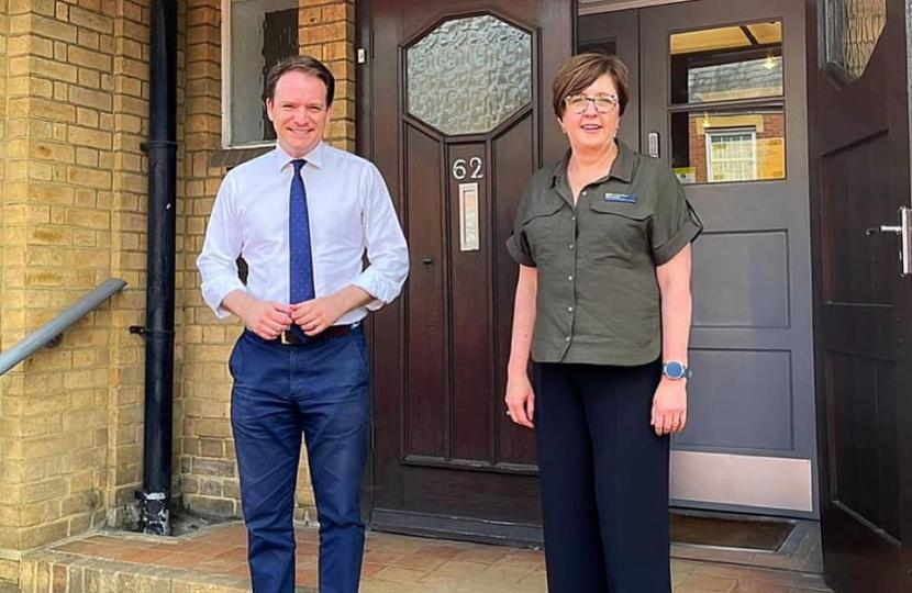 Gareth Davies MP and Nikki Cooke